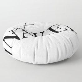 get naked II Floor Pillow