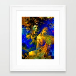 Shiva The Auspicious One - The Hindu God Framed Art Print