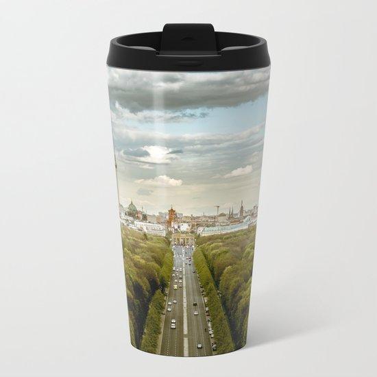 Berlin skyline Metal Travel Mug