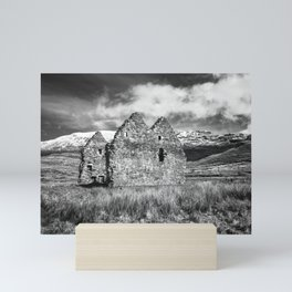 Calda House Monochrome Mini Art Print