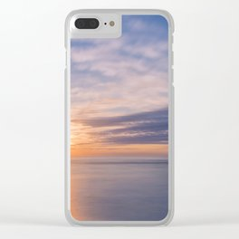 A new day, new beginning Clear iPhone Case