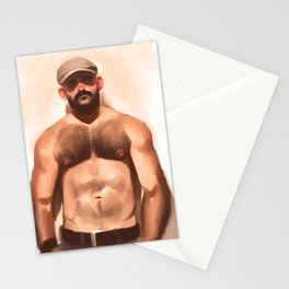 Newsboy Cap Stationery Cards