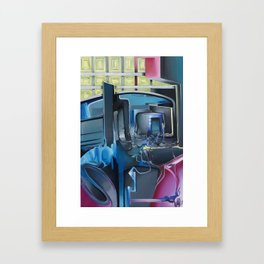 Stadt-Land Framed Art Print
