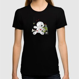 Voodoo doll shelf T-shirt