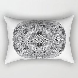 Sur-Rounding-Paths Rectangular Pillow
