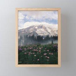 Mt Rainier Framed Mini Art Print