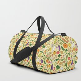 Veggie Friends Doodle Duffle Bag