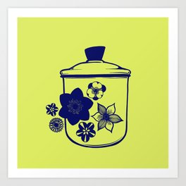 Mod Canister Art Print