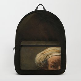 Self Portrait as the Apostle Paul - Rembrandt Backpack