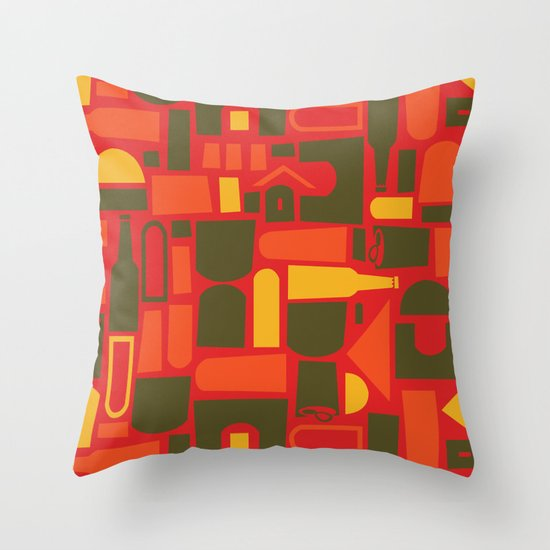 Brew City Throw Pillow