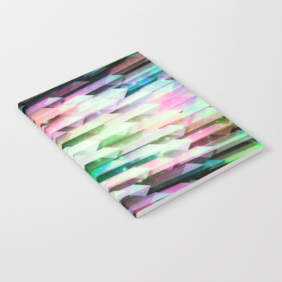 vivid quartz rising Notebook