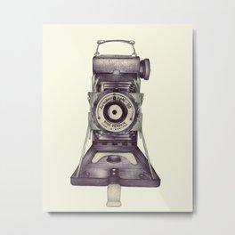 Kershaw Eight-20 King Penguin Metal Print