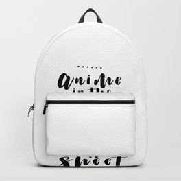 Anime Manga Hentai Otaku Nerd Gift Sheet Backpack