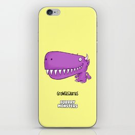 Growlasaurus iPhone Skin