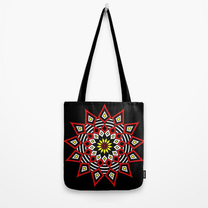 Stars Up to the Sky   Mandhala   Mother Star Tote Bag