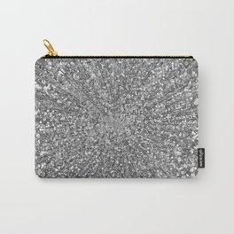 Glitz Supernova Silver Carry-All Pouch