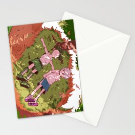 On Whale Island Stationery Cards