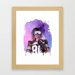 WTF Missy Elliott Framed Art Print