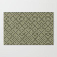 Simple Geometric Canvas Print