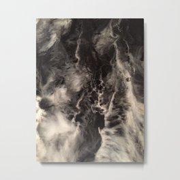 Cellular Explosion SMOKEn CLOUDS Metal Print
