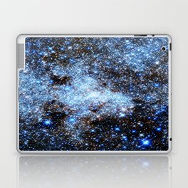 Blue gAlaxY Sparkle Stars Laptop & iPad Skin