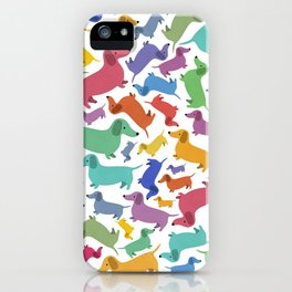 Hotdog Party iPhone Case