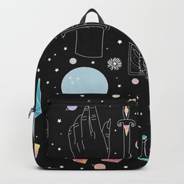 Crystal Witch Starter Kit - Illustration Backpack