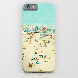 Coney Island Beach iPhone Case