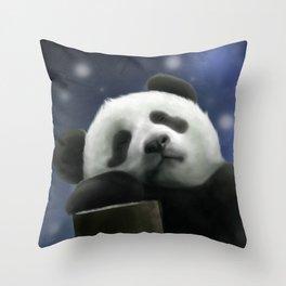 Sleeping Panda Throw Pillow