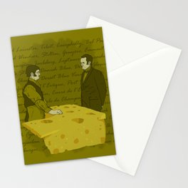 Any cheese at all? Stationery Cards