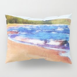 Colors of Water Pillow Sham