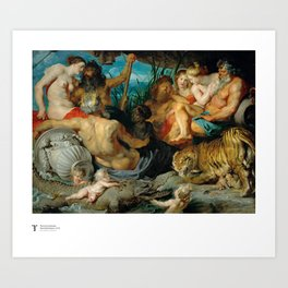 Peter Paul Rubens, The Four Continents, 1615 Art Print