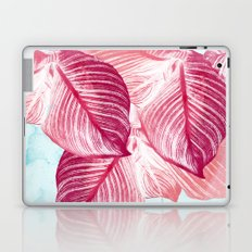 Tropical Canna Leaves  Laptop & iPad Skin