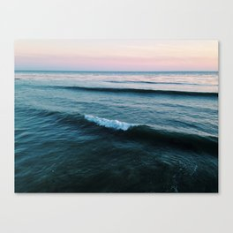 Forming Wave Canvas Print