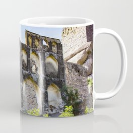 Golconda Fort Ruins with Traditional Indian Architecture and Design in Hyderabad, India Coffee Mug