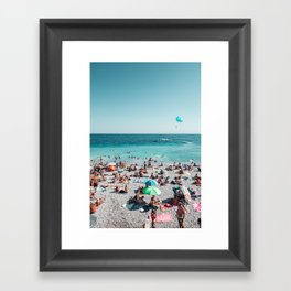 Ooh La La French Riviera Framed Art Print