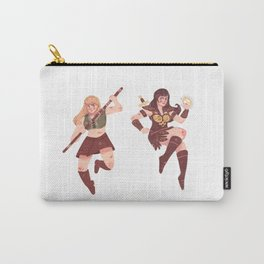 Xena and Gabrielle Carry-All Pouch