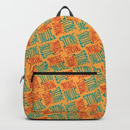 Stoned and Starving Backpack