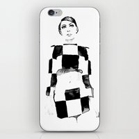 mod iPhone & iPod Skins featuring Mod by Sarah Maltas