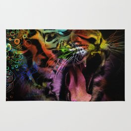 Tiger at the Gate Rug