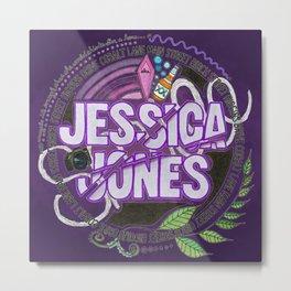 Jessica Jones Metal Print