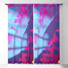 Neon Beach Blackout Curtain