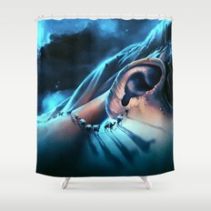 I want to talk to you Shower Curtain