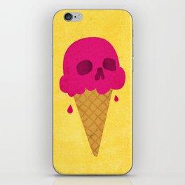 Skull Scoop. iPhone Skin