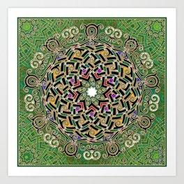 Mandala Celtic Art Print