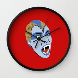 The Lair of the White Worm - Sylvia Marsh Wall Clock