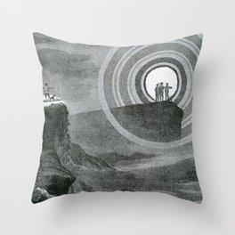 L'Atmosphère (Camille Flammarion) (1872) - A Brocken Spectre Throw Pillow