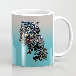 Dragon Cat (Color) Coffee Mug