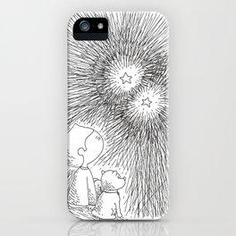 sous les étoiles iPhone Case