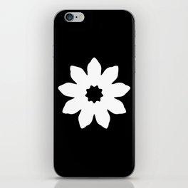Vector Flower iPhone Skin